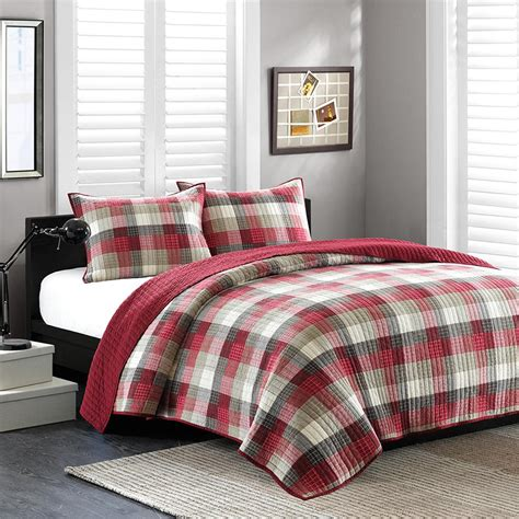 red quilts and coverlets maddox red coverlet by ink ivy bedding