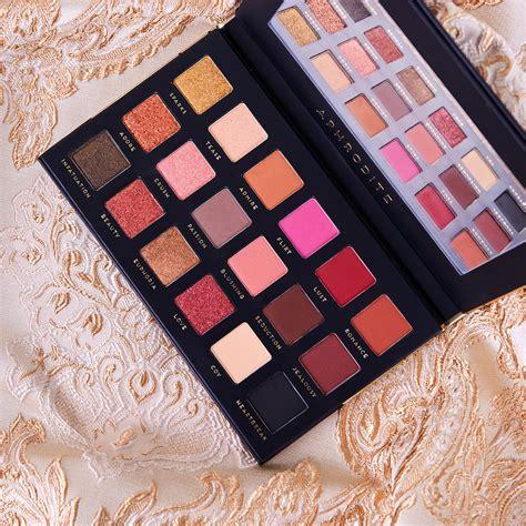 aphrodite colors bad habit aphrodite 18 color eyeshadow palette glam