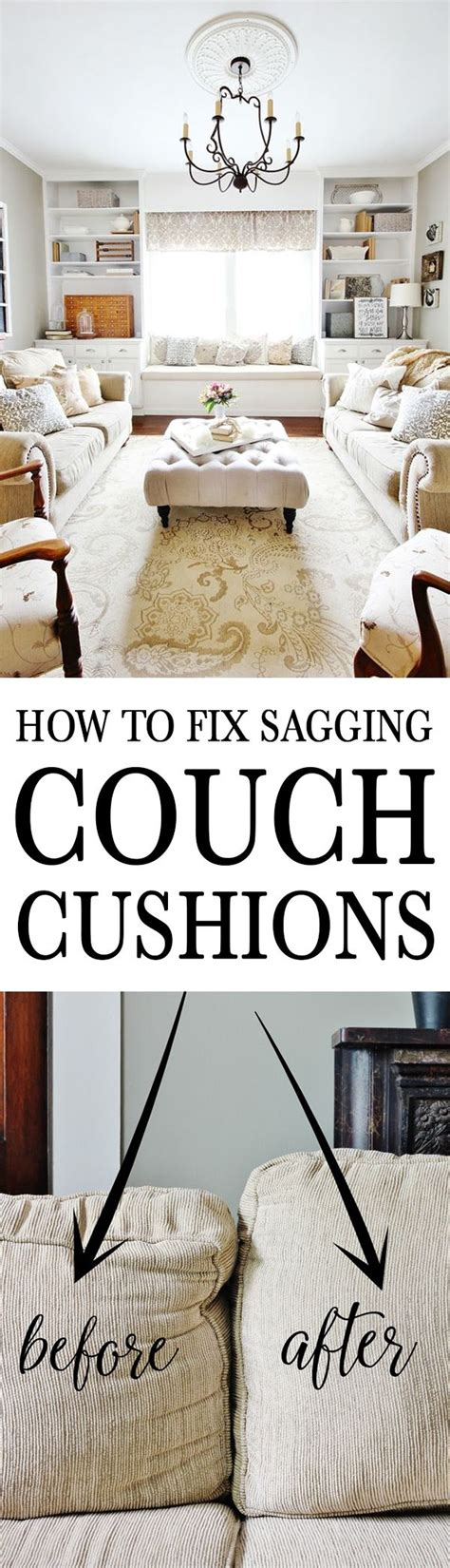 how to revive couch cushions how to fix sagging couch cushions at the top window and