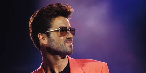 George Michael this of george michael rehearsing a song while