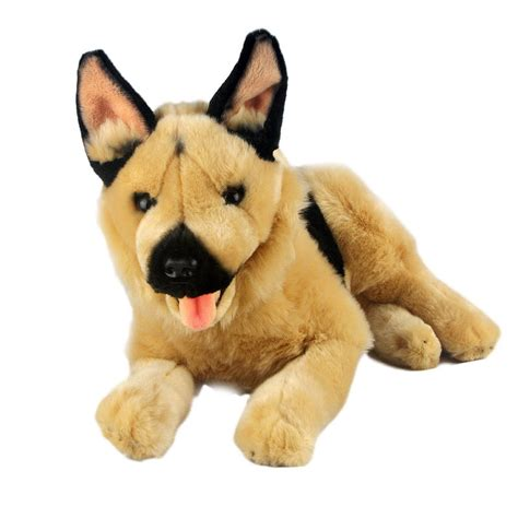 german shepherd puppy toys german shepherd lying plush soft stuffed animal king 16 quot 40cm ebay