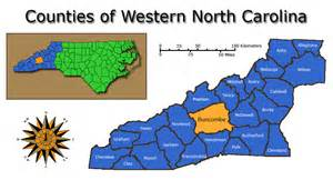 map of western carolina counties counties of western carolina homes for sale in