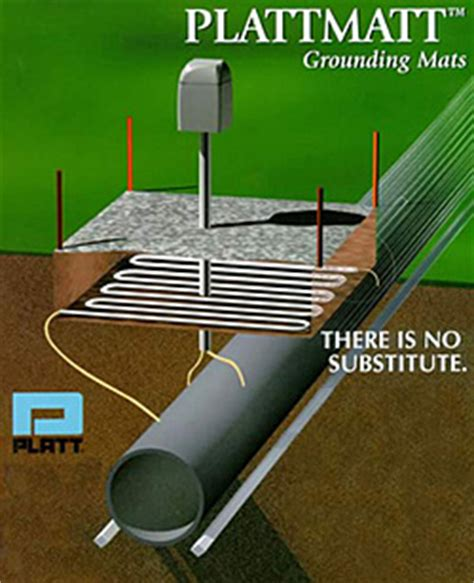 Electrical Grounding Mat by Platt Bros Grounding Mats