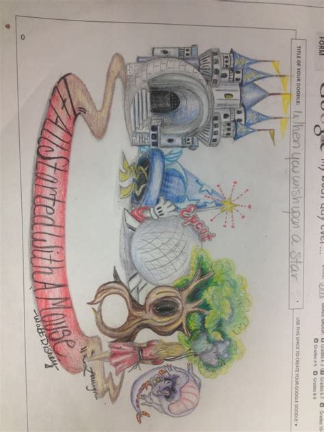 google themes disney my teacher exle for doodle for google 1013 topic was