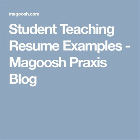 Student Teaching Resume Description by Best 25 Teaching Resume Exles Ideas On
