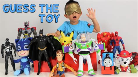disney toys fan challenges guess the challenge toys disney