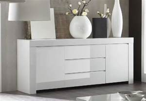 Small Kitchen Sideboard Rimini Collection Two Door Three Drawer Sideboard White