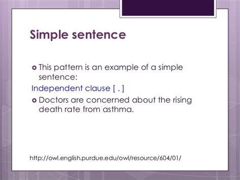 sentence patterns lecture ewrt 30 class 15