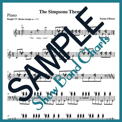 danny elfman simpsons the simpsons theme danny elfman show band charts