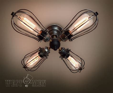 Ceiling Fans With Light Fixtures Rustic Semi Flush Mount Ceiling Light Kitchen 2014 New
