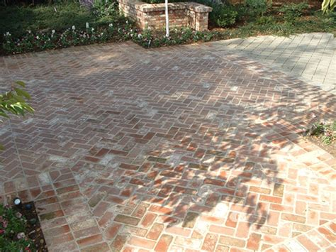 brick patio patterns paving walton sons masonry inc 30 years experience