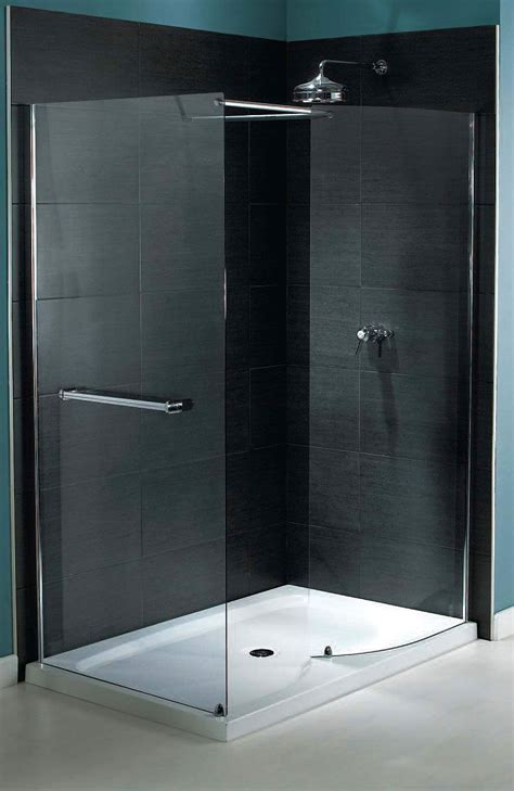 Two Panel Sliding Shower Bath Screen aqualux shine walk in shower enclosure 1400 x 800mm