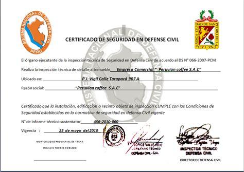 formatos de certificado de defensa civil todo lo que necesitas saber para crear tu propia empresa