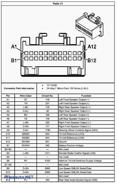 2003 chevy malibu radio wiring diagram wiring diagram