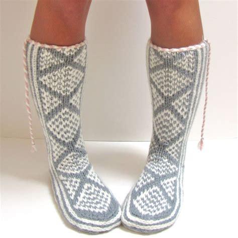 mukluk slipper socks these knit pattern glacier mukluks hit the