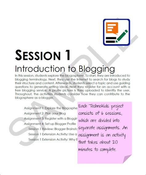 Parent Letter For Kidblog Free Student Blogging Unit Plan Kidblog