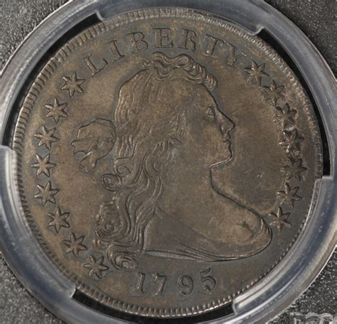 1795 draped bust silver dollar value nice 1795 draped bust silver dollar pcgs vf details