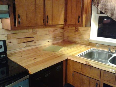 L Shaped Butcher Block Countertop l shaped kitchen cabinet with untreated wooden butcher