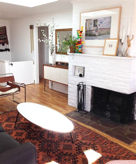 long narrow living room with fireplace in center how to lay out a narrow living room emily henderson