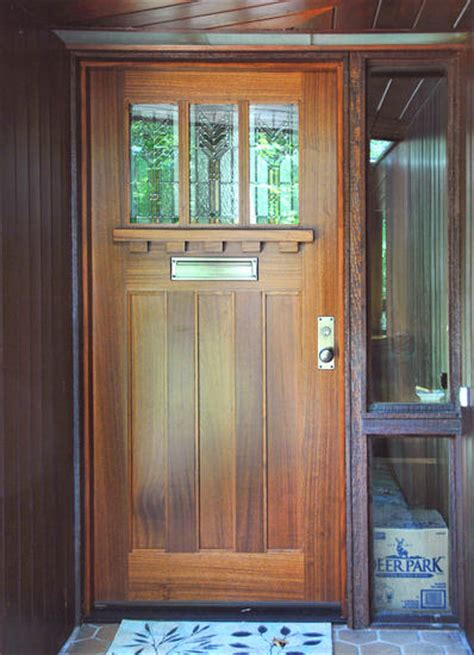 Beachy Craftsman Front Door Barn Style Doors Barn Front Door
