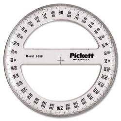 chartpak full circle protractor madill the office company