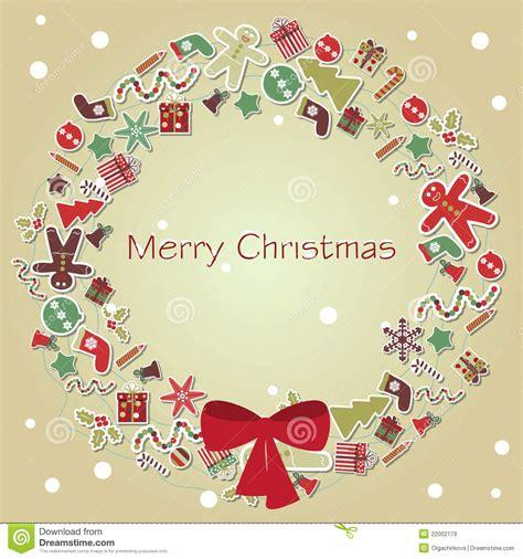 christmas card vector stock vector illustration  card