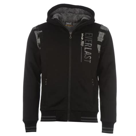 Sweater Everlast Everlast Mens Premfllnd2 Hoodie Pockets Zip