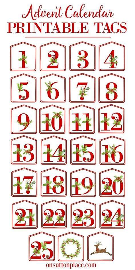 diy printable advent calendar christmas alphabet printables calendar printable advent