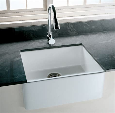 clay kitchen sinks tulip fireclay farmhouse kitchen sink bacera