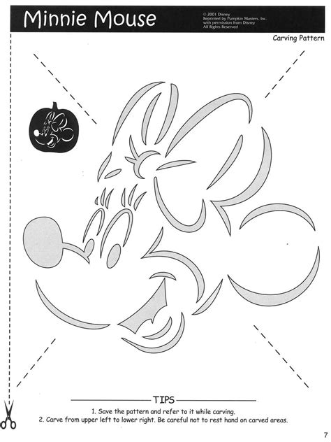 minnie mouse template for pumpkin carving mickey mouse free stencils cliparts co