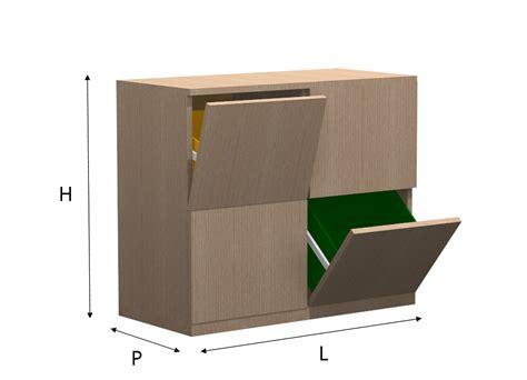 mobili per mobili per raccolta differenziata da esterno design casa