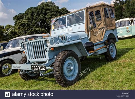 us navy colors a restored 1943 willys jeep in u s navy colours and