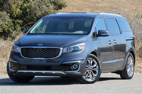 Used Kia Sedona 2015 2015 Kia Sedona Drive Photo Gallery Autoblog