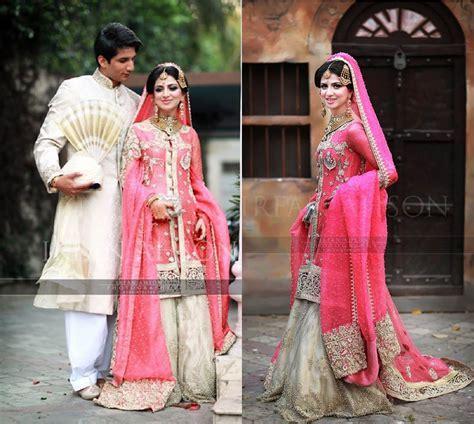 Traditional Pakistani Bridal Dresses 2016 2017   HijabiWorld