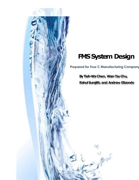design patterns for flexible manufacturing flexible manufacturing system design