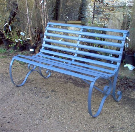 old garden bench antique slatted garden bench ironart of bath