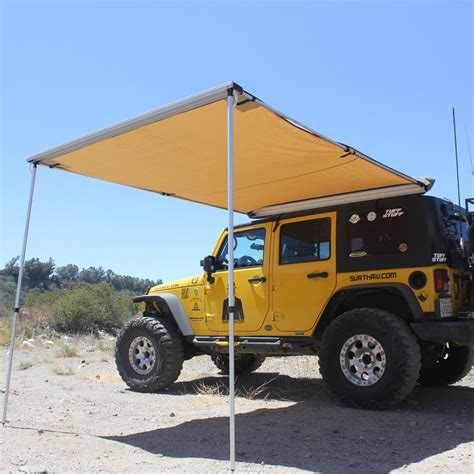Road Vehicle Awnings by Tuff Stuff 174 6 5 X 8 Rooftop Awning Tuff Stuff 174 4x4