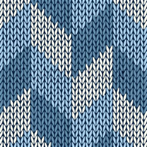 knit pattern vector style seamless color knitted pattern vector colourbox