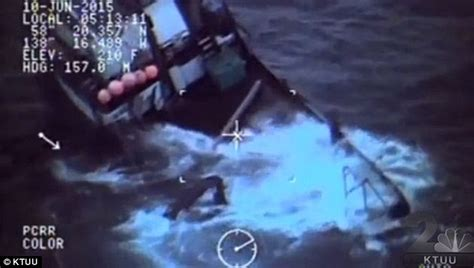 four men were fishing in a boat alaska coast guard rescues 4 men who abandoned sinking