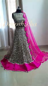 pink colour combination dresses wow grey and pink combination lehenga very elegant