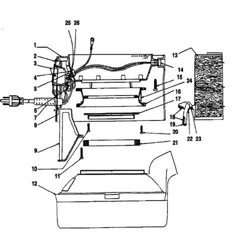 rainbow vacuum parts diagram rainbow vacuum parts diagram wiring diagram with description