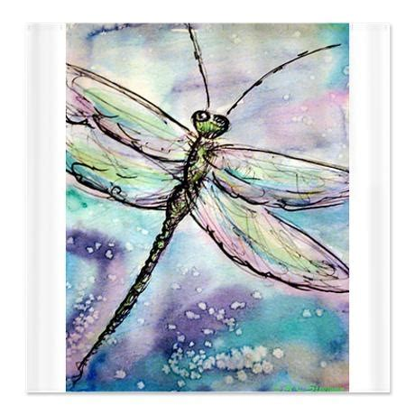 dragonfly shower curtains dragonfly beautiful art shower curtain on
