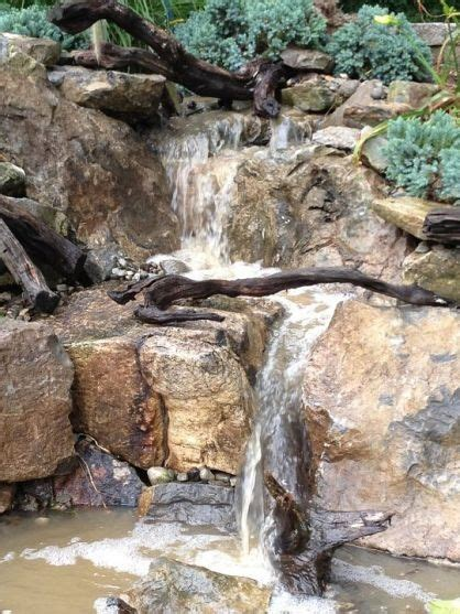 aquascape pondless waterfall pondless waterfalls by nj pondguys