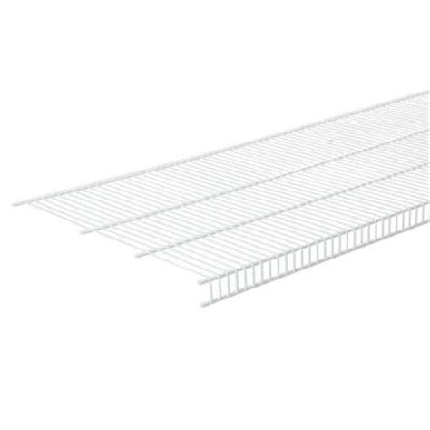 closetmaid mesh 6 ft x 16 in ventilated wire shelf