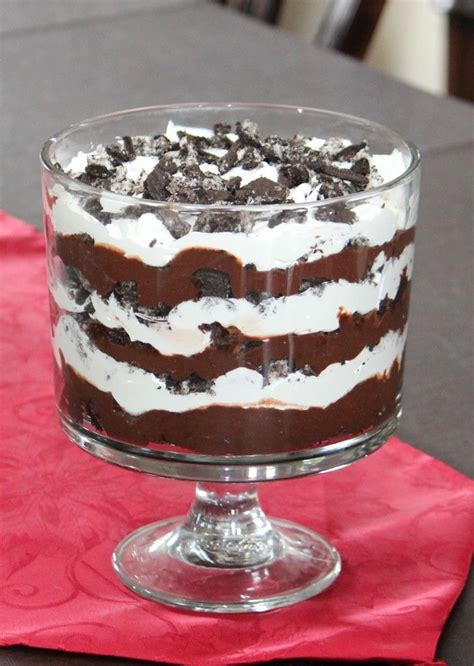 15 Ingredients And Directions Of Chocolate Raspberry Trifle Receipt by 25 Best Trifle Bowl Desserts Ideas On