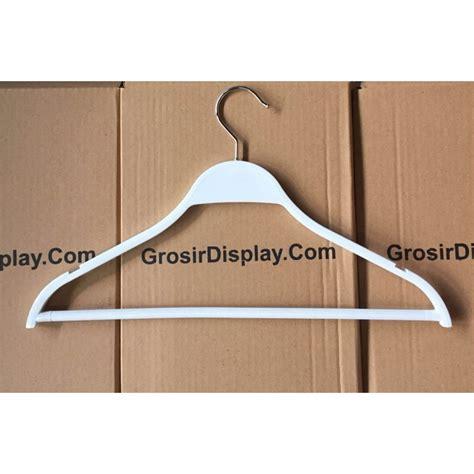 Gantungan Baju Hanger Kayu Palang hanger palang zara glossy gantungan baju butik gaun distro