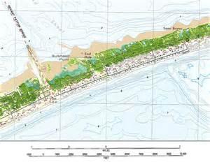 map of st george island florida george island 1982