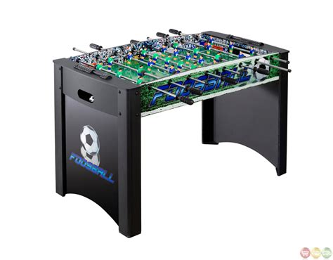 Soccer Foosball Table by Soccer Tables Playoff 48 Inch Foosball Table