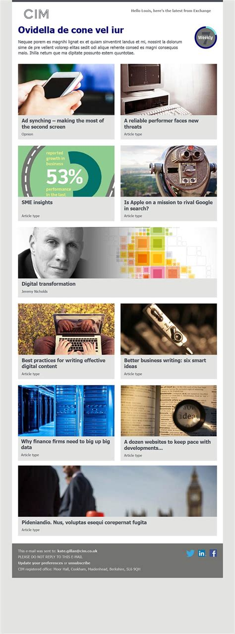 exchange email templates exchange email templates chartered institute of
