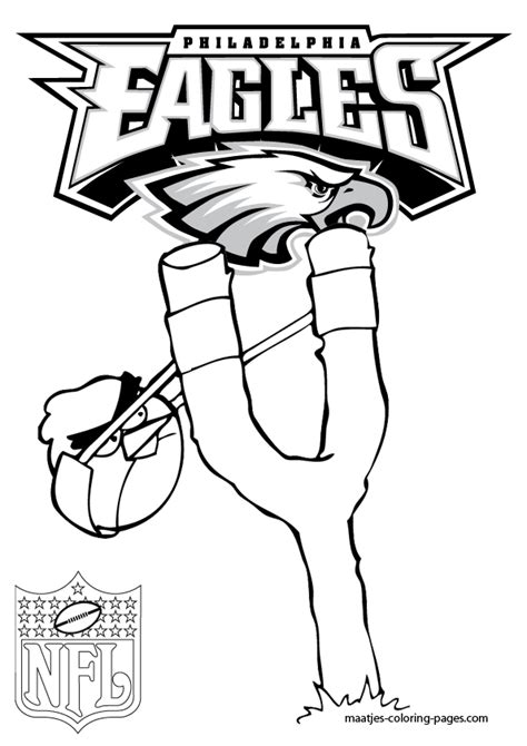 spongebob nfl coloring pages philadelphia eagles high quality coloring pages with